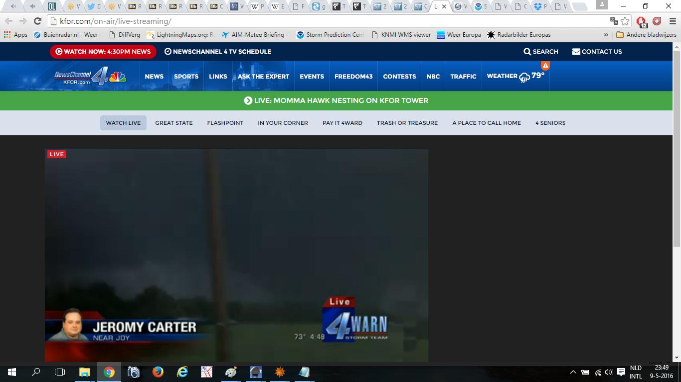Weerwoord | Nu te zien op KFOR-stream, wedge-tornado