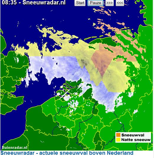 sneeuw radar nederland